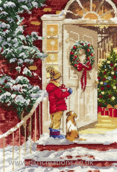 Personal Delivery Cross Stitch Kit